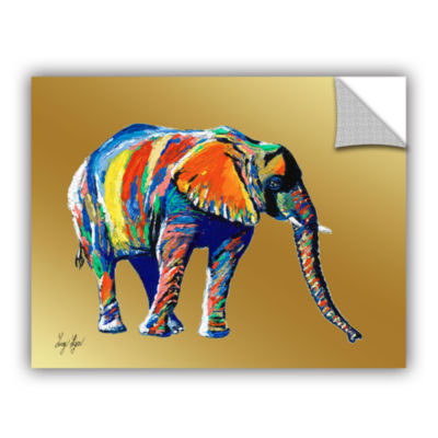 Brushstone Sunflower (elephant) Removable Wall Decal