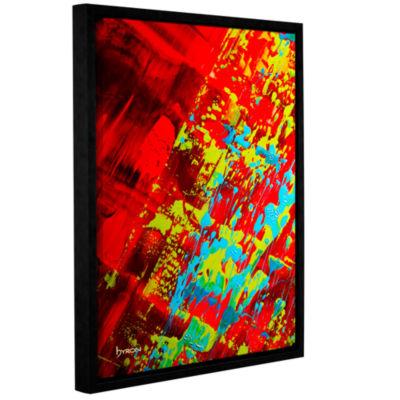 Brushstone Springtime Celebration Gallery WrappedFloater-Framed Canvas Wall Art