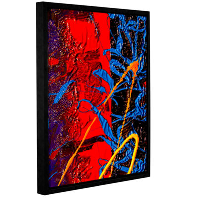 Brushstone Standing Tall Gallery Wrapped Floater-Framed Canvas Wall Art