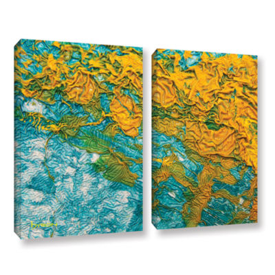 Brushstone Summer Breeze 2-pc. Gallery Wrapped Canvas Wall Art