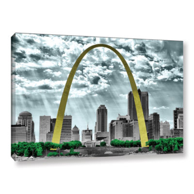 Brushstone St. Louis Gallery Wrapped Canvas Wall Art