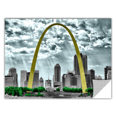 Brushstone St. Louis Removable Wall Decal