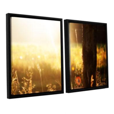 Brushstone Summertime 2-pc. Floater Framed CanvasWall Art