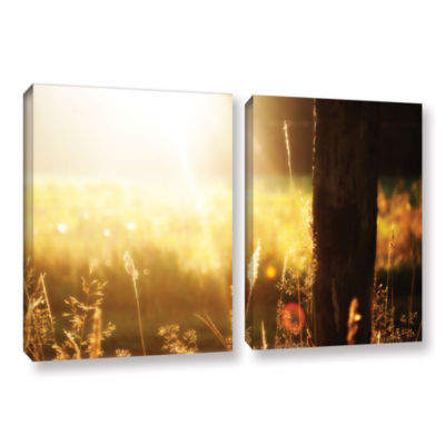 Brushstone Summertime 2-pc. Gallery Wrapped CanvasWall Art