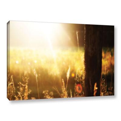 Brushstone Summertime Gallery Wrapped Canvas WallArt