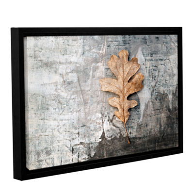 Brushstone Still Life Leaf Gallery Wrapped Floater-Framed Canvas Wall Art