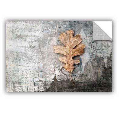 Brushstone Still Life Leaf Removable Wall Decal