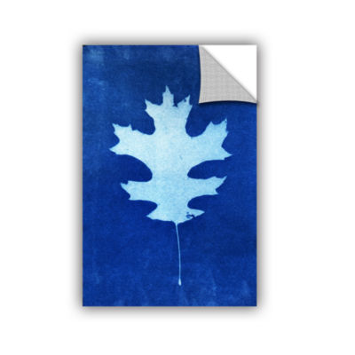 Brushstone Sun Print Of A Leaf Removable Wall Decal