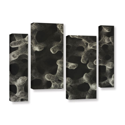Brushstone Stem Cell 4-pc. Gallery Wrapped Staggered Canvas Wall Art