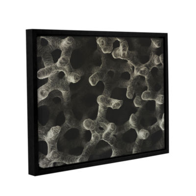 Brushstone Stem Cell Gallery Wrapped Floater-Framed Canvas Wall Art