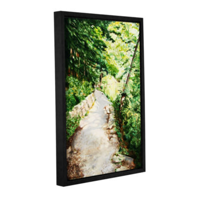 Brushstone Summer's End Gallery Wrapped Floater-Framed Canvas Wall Art