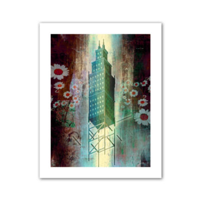 Brushstone Spring Time in the City Canvas Wall Art