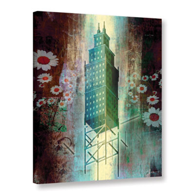 Brushstone Spring Time in the City Gallery WrappedCanvas Wall Art