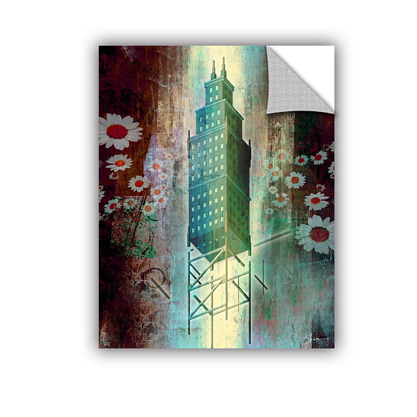 Brushstone Spring Time in the City Removable WallDecal