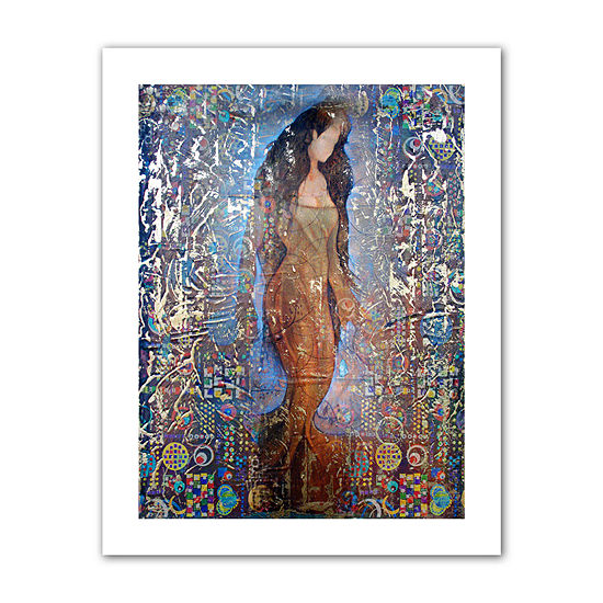 Brushstone Stained Interlude Canvas Wall Art