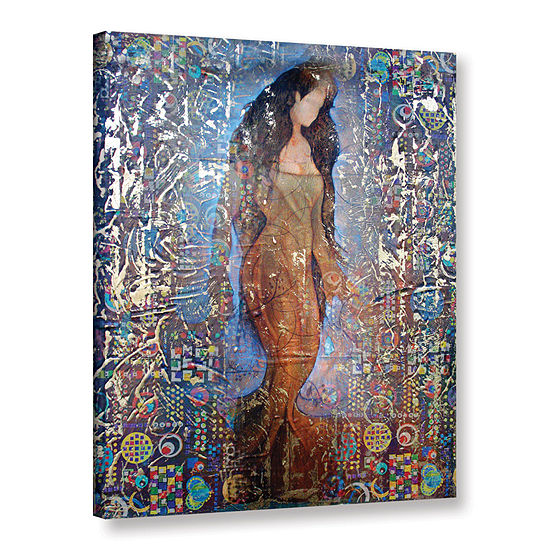 Brushstone Stained Interlude Gallery Wrapped Canvas Wall Art