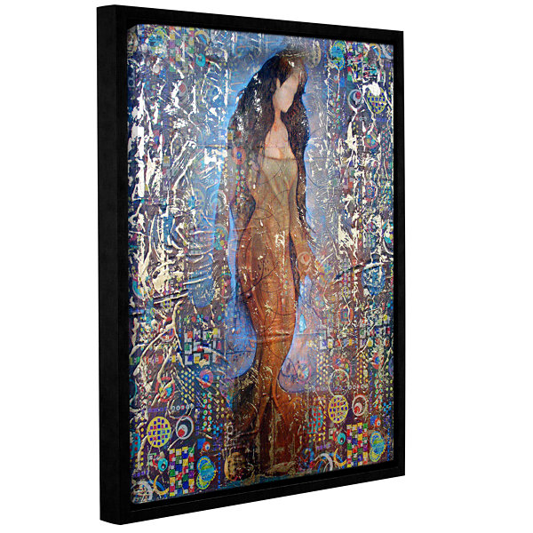 Brushstone Stained Interlude Gallery Wrapped Floater-Framed Canvas Wall Art