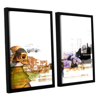 Brushstone Stages 2-pc. Floater Framed Canvas WallArt
