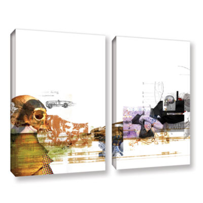 Brushstone Stages 2-pc. Gallery Wrapped Canvas Wall Art