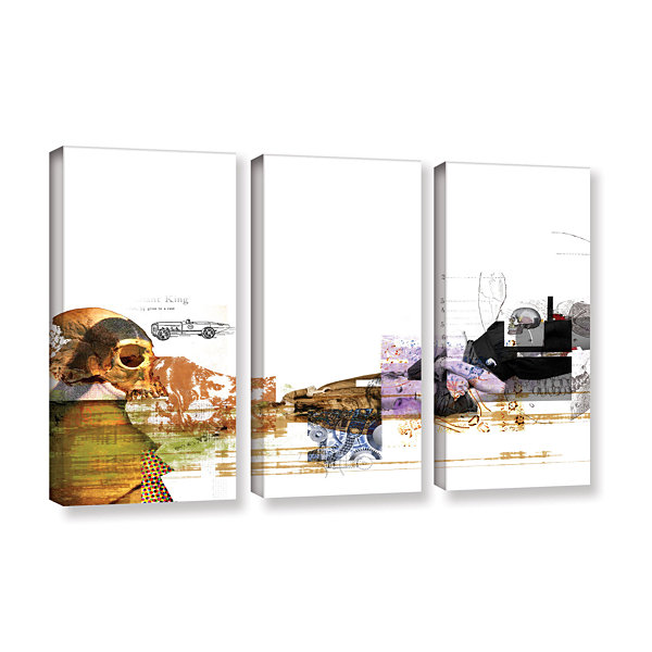 Brushstone Stages 3-pc. Gallery Wrapped Canvas Wall Art