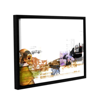 Brushstone Stages Gallery Wrapped Floater-Framed Canvas Wall Art