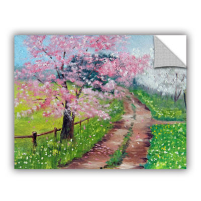 Brushstone Springtime Road Removable Wall Decal