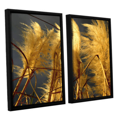 Brushstone storm swept 2-pc. Floater Framed CanvasWall Art