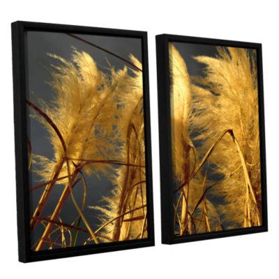 Brushstone storm swept 2-pc. Floater Framed CanvasWall Art