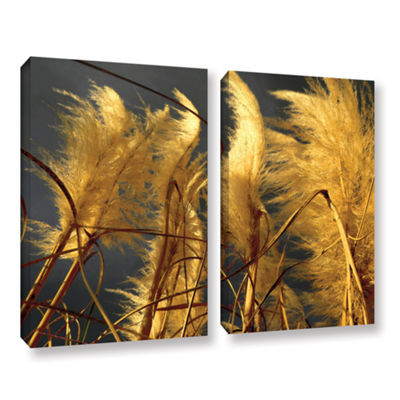 Brushstone storm swept 2-pc. Gallery Wrapped Canvas Wall Art
