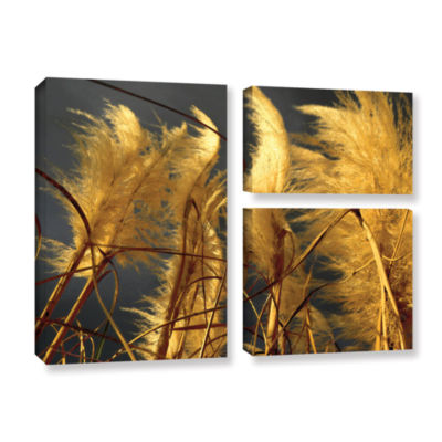Brushstone storm swept 3-pc. Flag Gallery WrappedCanvas Wall Art