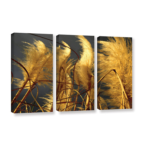 Brushstone storm swept 3-pc. Gallery Wrapped Canvas Wall Art