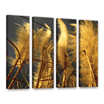 Brushstone storm swept 4-pc. Gallery Wrapped Canvas Wall Art