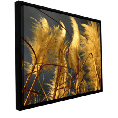 Brushstone storm swept Gallery Wrapped Floater-Framed Canvas Wall Art