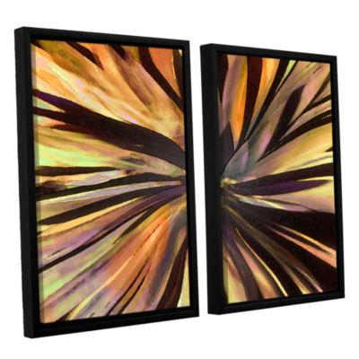 Brushstone Suculenta Paleta 2-pc. Floater Framed Canvas Wall Art