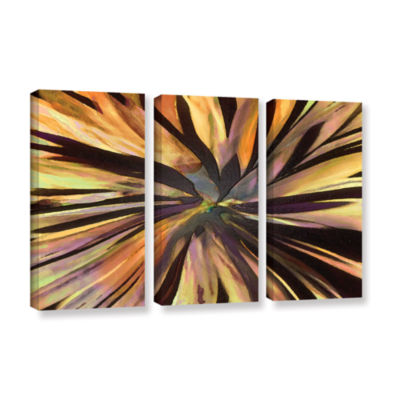 Brushstone Suculenta Paleta 3-pc. Gallery WrappedCanvas Wall Art