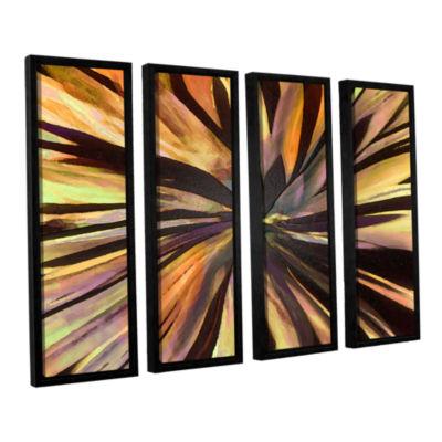 Brushstone Suculenta Paleta 4-pc. Floater Framed Canvas Wall Art