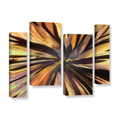 Brushstone Suculenta Paleta 4-pc. Gallery WrappedStaggered Canvas Wall Art