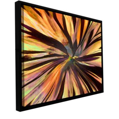 Brushstone Suculenta Paleta Gallery Wrapped Floater-Framed Canvas Wall Art