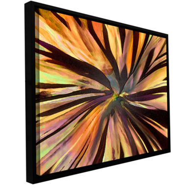 Brushstone Suculenta Paleta Gallery Wrapped Floater-Framed Canvas Wall Art