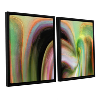 Brushstone Suculenta Polar 2-pc. Floater Framed Canvas Wall Art