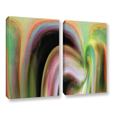 Brushstone Suculenta Polar 2-pc. Gallery Wrapped Canvas Wall Art