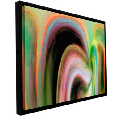 Brushstone Suculenta Polar Gallery Wrapped Floater-Framed Canvas Wall Art