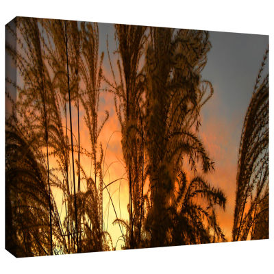 Brushstone Summer Grass Gallery Wrapped Canvas Wall Art