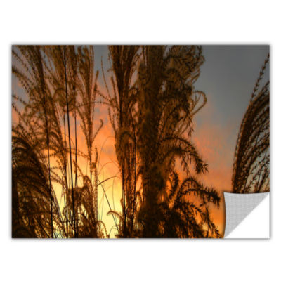 Brushstone Summer Grass Removable Wall Decal