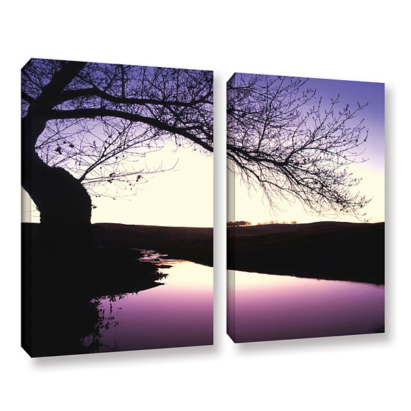 Brushstone Squaw Valley Twilight 2-pc. Gallery Wrapped Canvas Wall Art