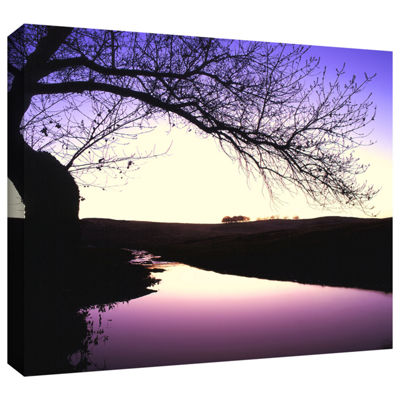 Brushstone Squaw Valley Twilight Gallery Wrapped Canvas Wall Art