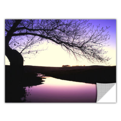 Brushstone Squaw Valley Twilight Removable Wall Decal