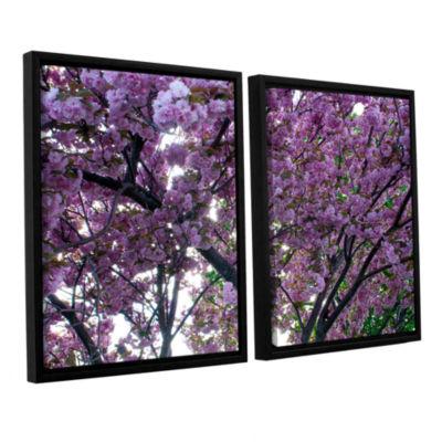 Brushstone Spring Flowers 2-pc. Floater Framed Canvas Wall Art