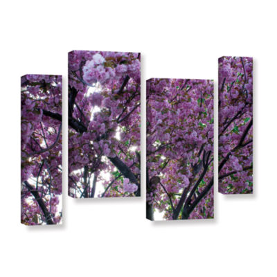 Brushstone Spring Flowers 4-pc. Gallery Wrapped Staggered Canvas Wall Art