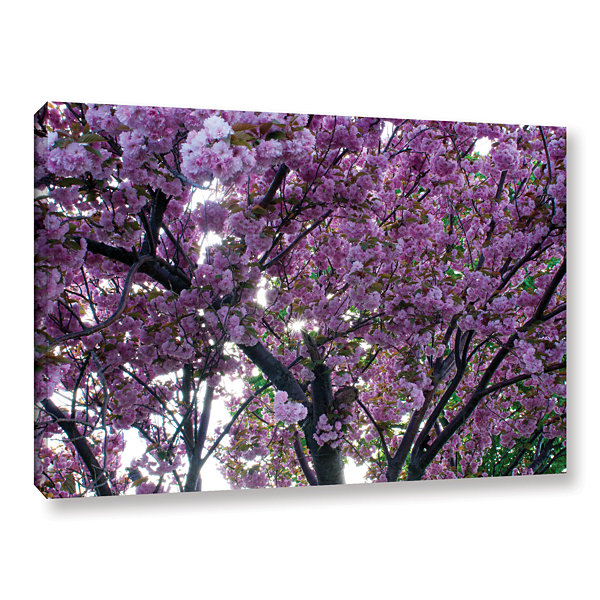 Brushstone Spring Flowers Gallery Wrapped Canvas Wall Art